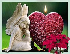 de – Your free picture community gif All gif playback time of shares varies according to your internet speed. Gif Animated Images, Beau Gif, In Remembrance Of Me, Angel Images, Online Image Editor, Good Morning Love, Finding True Love, Angel Art, Rainbow Bridge