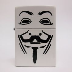 Guy Fawkes Authentic Zippo Lighter by FalstaffTrading on Etsy, $35.00