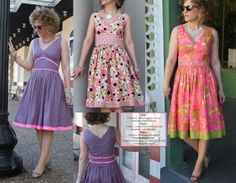 The Marilyn Dress Pattern by Serendipity Studio