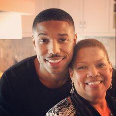 Michael B. Jordan and mom My Black Is Beautiful, Beautiful Boys, Beautiful People, Michael Bakari Jordan, Bae, Fine Men, Well Dressed Men, Dark Beauty, Perfect Man