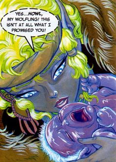 Eyes High and Skywise. Elfquest.
