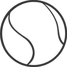 Rezultat iskanja slik za drawings tennis ball