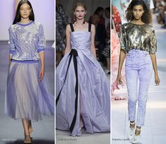 Spring/ Summer 2016 Color Trends: Periwinkle  #trends #fashion #SS2016