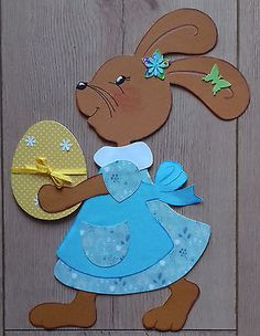 Cardboard Crafts, Paper Crafts, Diy Ostern, Easter Crafts For Kids, Sewing Crafts, Diy And Crafts, Projects To Try, Creations, Scrapbook