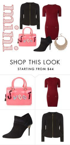 """mini handbag"" by shistyle on Polyvore featuring Furla, Dorothy Perkins and Minime"