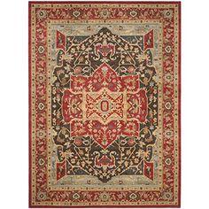 Safavieh Mahal Collection MAH625D Red Area Rug, 9 feet by... https://www.amazon.com/dp/B00PNF3SJ2/ref=cm_sw_r_pi_dp_7scNxb3H1QW8Z