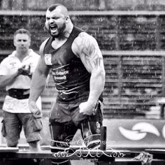 Photographing at Giants Live Headingley Stadium Leeds x Strongman Ed Hall