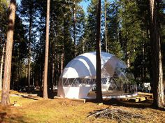 36' Eco Living Dome by DomeGuys International, via Flickr