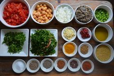 Ingredients for #Moroccan Harira (soup) | My Halal Kitchen