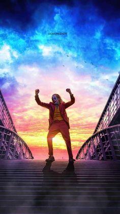 Joker Dancing on stairs iPhone Wallpaper - iPhone Wallpapers