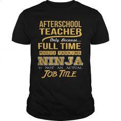 AFTERSCHOOL TEACHER - NINJA GOLD - #women hoodies #blue hoodie. PURCHASE NOW…