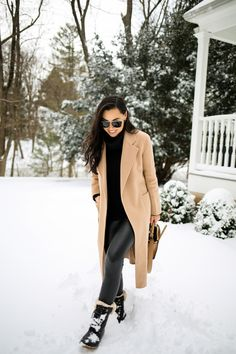 Snow Day Snow Fashion, Winter Fashion Outfits, Autumn Winter Fashion, Casual Outfits, Winter Style, Winter Snow Outfits, Snow Day Outfit, Outfit Of The Day, Business Professional Outfits