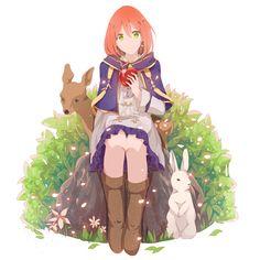 Shirayuki (Akagami no Shirayukihime), Deer, Rabbit