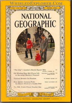 National Geographic, June 1961