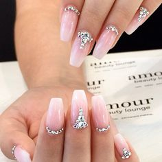 Prom Nails For White Dress picture 2
