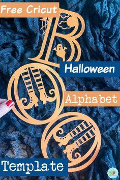 Halloween Frames, Halloween Projects, Halloween Decorations, Halloween Parties, Spooky Halloween, Halloween Fonts, Outdoor Decorations, Halloween Ideas, Alphabet And Numbers