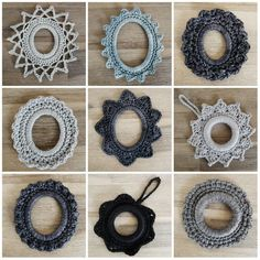 Crochet Cadre tutoriel