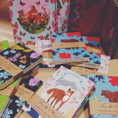 Roger la Borde notebooks at Roses and Rice store