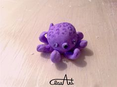 ClarArt - creations & ideas Clay mini Octopus