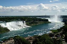 Niagara Falls - truly spectacular. also, take the Maid of the Mist boat tour for a full experience.