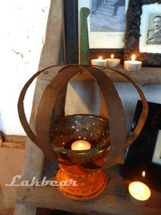 Lakbear has shared 1 photo with you! Diy Recycle, Recycling, Tea Lights, Candle Holders, Candles, Photos, Pictures, Tea Light Candles, Porta Velas