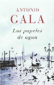 """""""Los papeles de agua"""" Antonio Gala. Asunción Moreno no fue nunca una mujer sencilla de entender. Y menos aún cuando se convirtió en Dayanira Alarcón, una escritora que triunfó con sus novelas. Hasta que una de ellas no gustó, y Deyanira decidió irse a Venecia a poner un punto y aparte en su vida."""