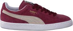 trendy Rode Puma Sneakers 352634 HEREN