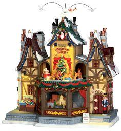 Lemax Holiday Hamlet Christmas Shoppe. SKU# 55026