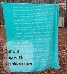 Send a Hug With BlankieGram
