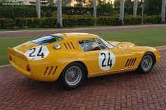 Ferrari 275GTB/C  car is owned by Preston Henn of Swap Shop fame. Chassis 6885, it is the Ecurie Francorchamps car that came in third overall at LeMans behind two 250LMs and took the division honours. The 275GTB/C was the last racing Ferrari to be equipped with wire wheels, the power and weight combined to make them a borderline proposition and a cause of some DNFs. Some of these cars were campaigned up until 1975, 20 years after their introduction.