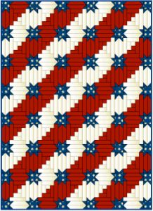 Stars & Stripes Forever: A Free Patriotic Quilt Pattern