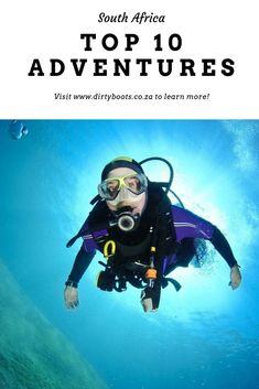 The Best Scuba Diving Locations Worldwide Shark Diving, Best Scuba Diving, Tsitsikamma National Park, Scuba Diving Lessons, Shark Cage, Adventure Center, Bass Lake, Wildlife Safari, Unique Hotels