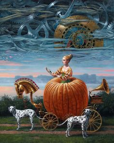 Michael Cheval Time To Be A Queen, 2012