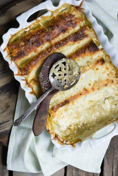 Chicken Enchiladas Suizas - The Lazy Mom's Cooking Blog