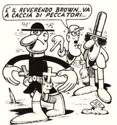 comic art by Benito Jacovitti