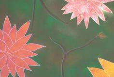 Original Floral Painting by Richard Larsen Saatchi Art, Stencils, Original Paintings, Canvas, Paper, Flowers, Plants, Wall, Tela