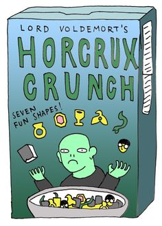 Horcrux Crunch I would clear the shelves and buy every box. Then I'd eat them for every meal!!