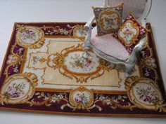 Hey, I found this really awesome Etsy listing at https://www.etsy.com/listing/124692849/aubusson-miniature-carpet-kit