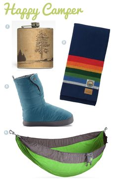 For Happy Campers -- great gift ideas here for hikers, campers, vagabonds...
