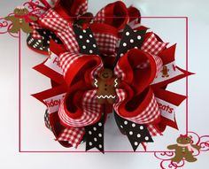 images of hair bows for little girls | ... Hair bows - hair bows online - affordable Christmas hair bows