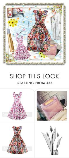 """Sevengrils-28"" by amra-2-2 ❤ liked on Polyvore featuring Pottery Barn and vintage"