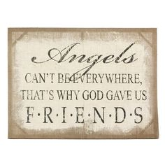 Angels Burlap Canvas Print