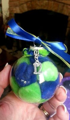 New #12 seahawks ornaments for this year.
