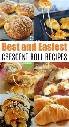 These are the best crescent roll recipes you will find. All are easy to make for… These are the best crescent roll recipes you will find. All are easy to make for… – – Crescent Dough Sheet Recipes, Pillsbury Crescent Roll Recipes, Recipes Using Crescent Rolls, Pilsbury Recipes, Crescent Roll Dough, Cresent Roll Appetizers, Creasant Roll Recipes, Bread Recipes, Yummy Recipes