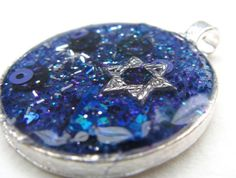 OOAK pendant with Star of David