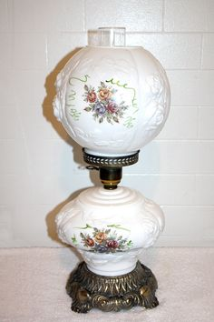Phoenix Milk Glass Roses Gone With the Wind by QUEENIESECLECTIC, $110.00