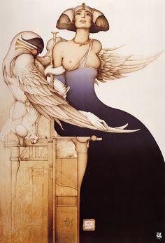 BetweenMirrors.com | Alt Art Gallery: Michael Parkes - Fantasy Art & Magic Realism