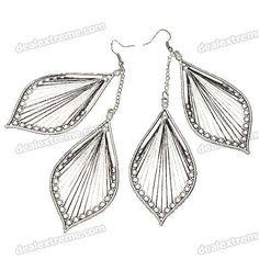 Beautiful 2-Leaf Style Earrings (2-Pair Pack)