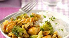 Gewokte Kip Teriyaki met broccoli en champignons