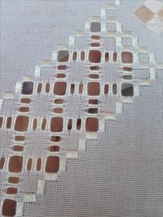 Yeni işim Hardanger Embroidery, Embroidery Stitches, Bargello, Elsa, Needlework, Sewing, Gallery, Crochet, Crafts